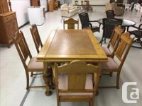 Beautiful Gibbard dining room set, near mint condition.