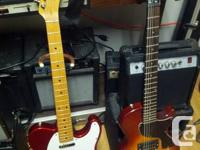 I am also selling the Fender Affinity Series Tele