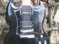! 998 Gibson SG Unique body & & neck, with Gibson