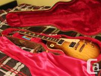 This 2001 reissue of the Gibson Les Paul Classic 1960