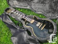 Gibson Les Paul Custom black beauty 1986 made in USA, for sale  Quebec