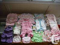Infant lady clothes dimension 0-3 Months. Diverse