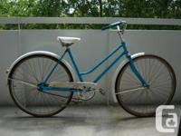 Blast from the past. Ladies coaster bike from the
