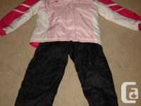 3 Girls Ski Suits Checkered and brown made by Firefly,