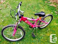 Columbia Sweet Daisy 6-speed Girl's MTB bicycle.  Fits