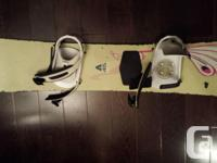 147cm long Burton Lady's snowboard with bindings. Not