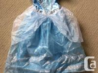 Dress up clothes and costumes.  Sizes vary from about 3
