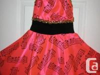 Gorgeous Dance Dress Great for Dress Up or Halloween