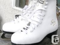 Ladies CCM S&P Ice Number Skates Size 13 in really