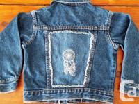 Girls Size 3-4 OshKosh B'gosh Denim Jean Jacket....with