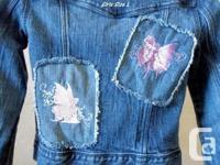 Girls Gap Kids Denim Jacket....with two reverse