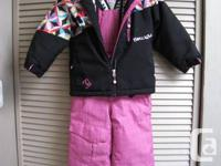For 3 - 4 year old.   Very warm and cozy for cold