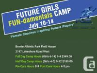 Future Girls Soccer, Ontario provide summer soccer camp