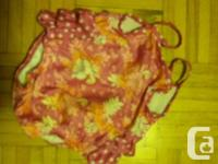 Girls swimsuits $10 each or both for $15. Please see