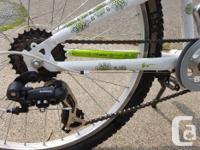 Lightly used girls TREK MT200 Mountain bike.