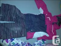 I have 3 girls bomber jackets for sale. EUC for all