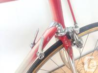 I am selling my vintage Giubilato Italian road bike.