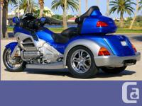 GL 1800 Honda Goldwing MOTOR TRIKE CONVERSION Custom