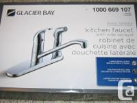 The 3000 Series Kitchen Faucet is a classic style with