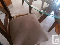 I have a dining table with 4 chairs one of the chair is