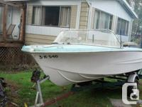 16.5 feet hourston glascraft with excellent 1993