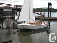 Builder selling Glen - L- 14 fiberglassed sloop c/w