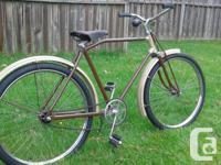 THIS BIKE IS A VERY RARE COLLECTERS ITEM,ALL ORIGINAL