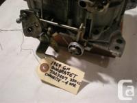 GM Rochester Quadrajet 4-bbl Carburetor.  Codes as a