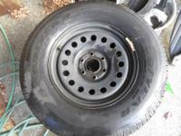 GM Truck Spare Tires and Rims - from $60- all