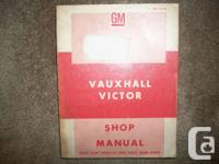 "Original OEM 1967 Vauxhall Winner ""101 Super"" Series FC"