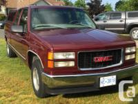 Make GMC Model 1500 Year 1998 Colour Red Trans