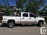 2006 GMC HD 4WD Crew Taxi Truck - really clean.