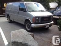 2001 GMC Savana 2500 Payload. 314,000 km. runs