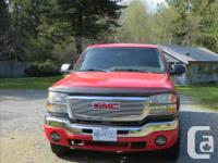 2003 GMC 2500HD RWD extended cab 4 door, powerful fuel