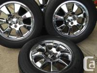 Great wheel and tire package for sale. Bridgestone
