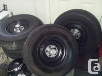 Five bolt pattern, fits chevy or gmc 1500. Two