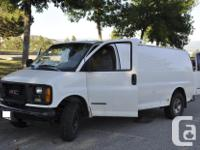 Hot deal! - BC Safety Certified - GMC Savana 3500 Ext.