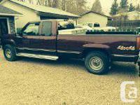 1996 GMC Sierra 2500 diesel 4x4 truck for sale.