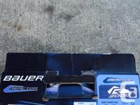 Size 2 Bauer goalie skates 60.00 29 inch reebok 8k pads
