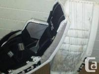 Ccm eflex 2 860 pads. Used em for a year and a half. I