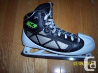 Used goalie skates - very good condition. Used one