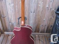 Archtop Godin electric-acoustic; a great acoustic with