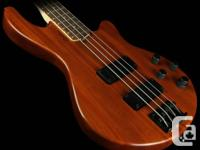 This is a bass that has tons of features and tone at a
