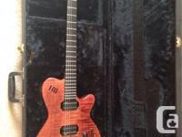 1996 - Godin LGX Electric guitar, AAA flame top,