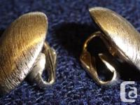 Ladies earrings. White gold. Clip-on. $600 Call
