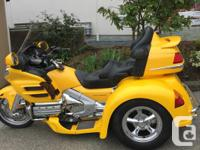 Make Honda Model Goldwing Year 2002 kms 46000 2002