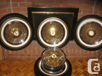 "I have a set of Player Wire Wheels (rim size 15""x7"") on"