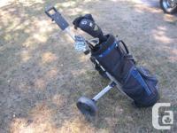Golden Bear Accuforce II golf club set including bag