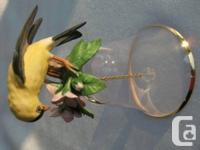 The Franklin Mint Collection 1986 - Goldfinch, by