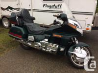 Make Honda Model Goldwing Year 1997 kms 149000 Goldwing
